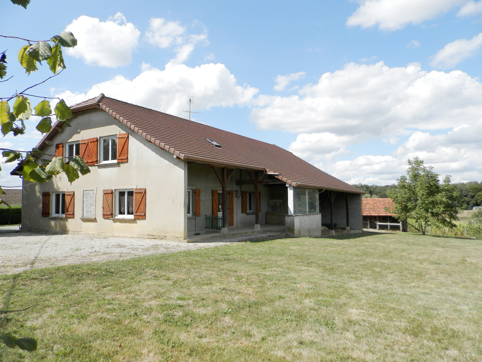 Vente Saint Germain Du Bois 71 Maison Familiale 140 M Terrain