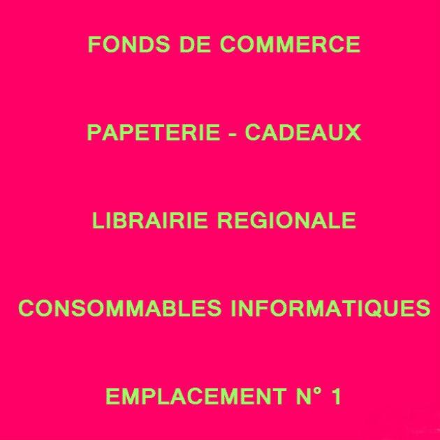 Vente Bletterans 39140 Fonds Commerce Papeterie Cadeaux