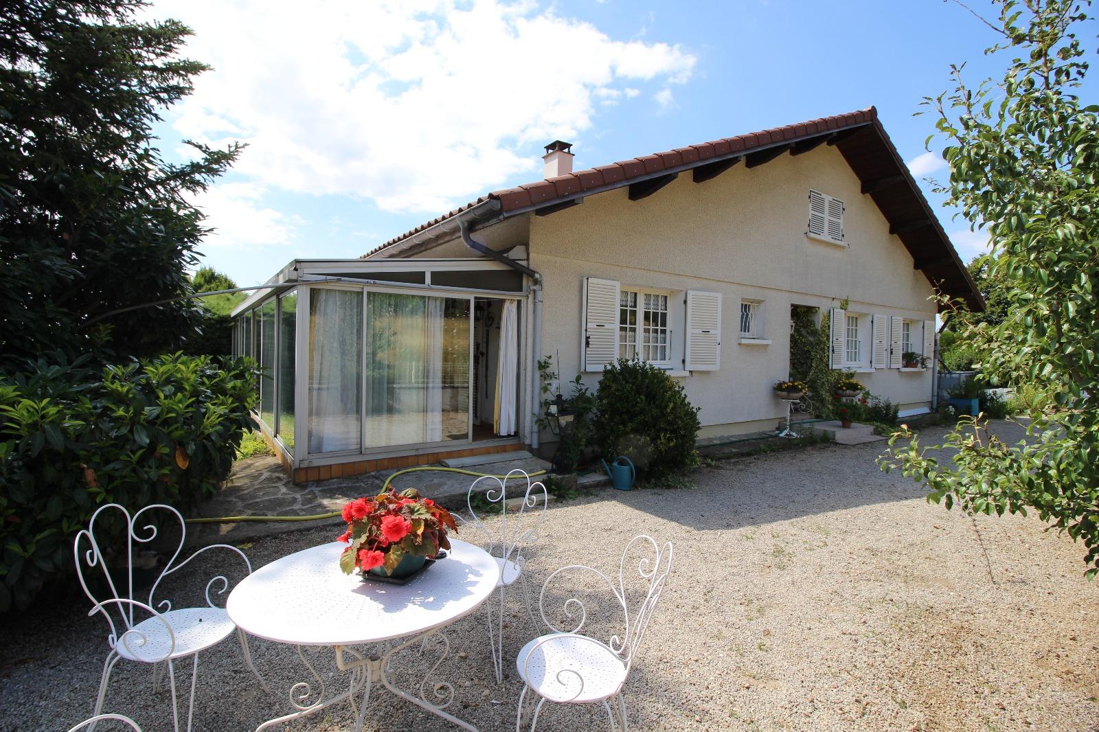 Vente secteur st amour 39160 maison de 125 m env et v randa de 28 m terrasse terrain 3360 - Frais de notaire achat garage ...