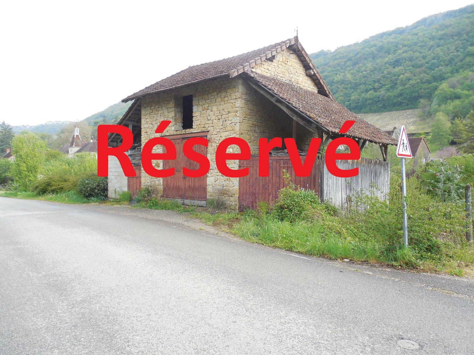 Voiteur 39210 jura a vendre terrain de 1500 m plus une grange de 60 m 3d immobilier - Frais de notaire achat garage ...