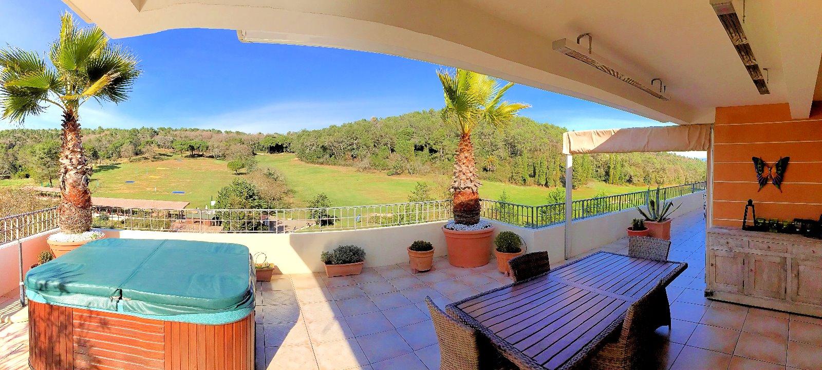 Valbonne 06 alpes maritimes a vendre villa sur toit for Toit terrasse immobilier