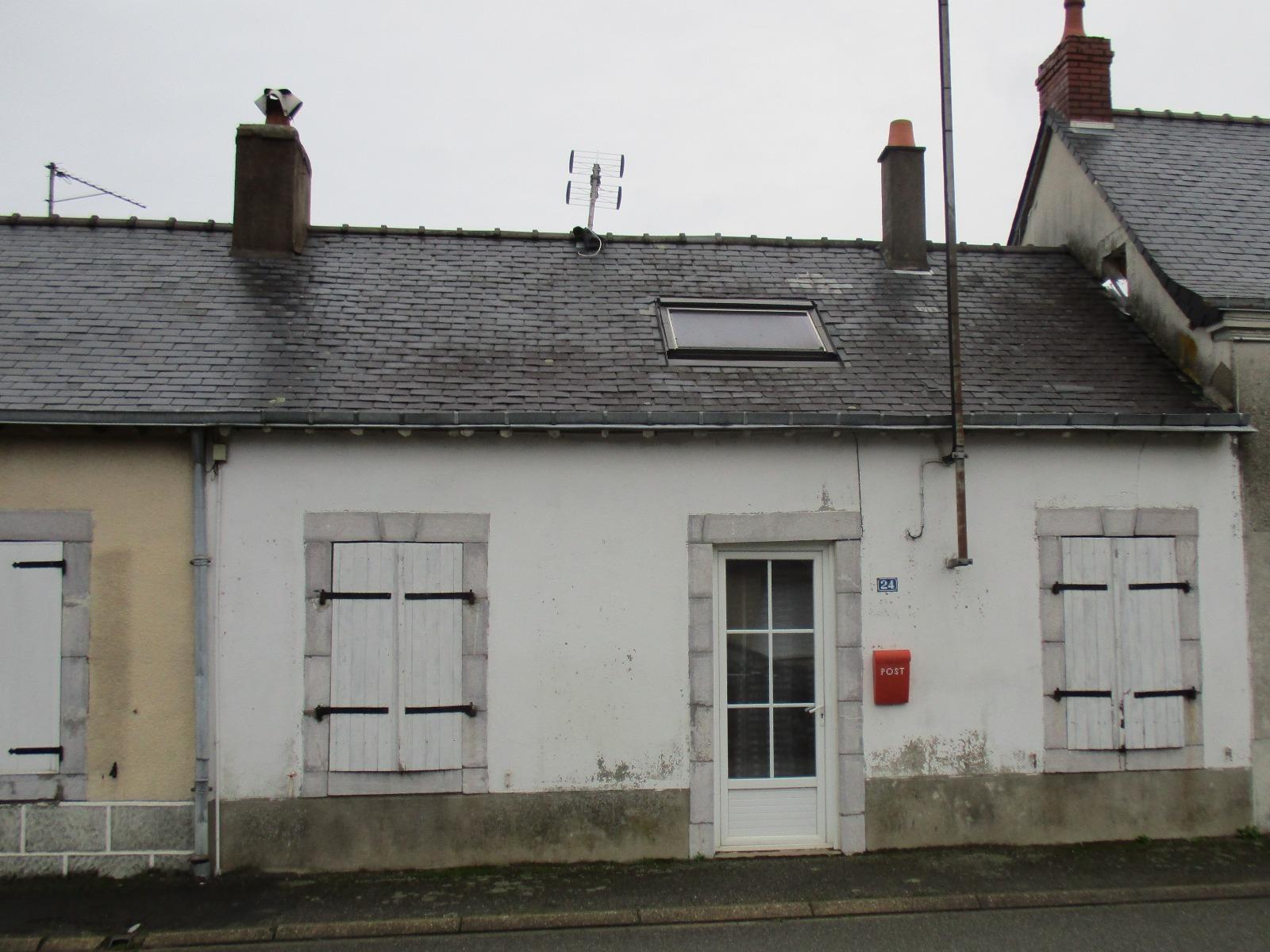 Laval vends maison de 58 m avec grenier sur un terrain de 200 m avec garage 3d immobilier - Frais de notaire achat garage ...