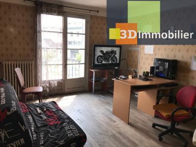 Saint-Florentin (89 YONNE), à vendre appartement, 4 pièces avec garage et grand balcon., CHAMBRE 1 - 14 m²