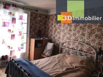 Saint-Florentin (89 YONNE), à vendre appartement, 4 pièces avec garage et grand balcon., CHAMBRE 2 - 11 m²