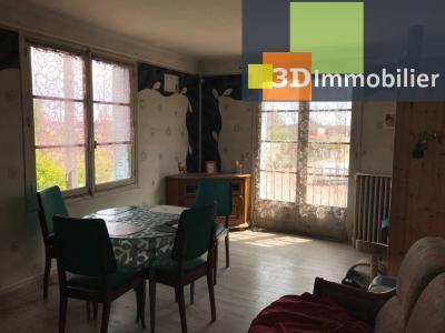 Saint-Florentin (89 YONNE), à vendre appartement, 4 pièces avec garage et grand balcon., SEJOUR - 18 m²