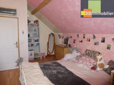 Chaussin (39 - Jura) à Vendre maison sur deux niveaux, 4 chambres, terrain de 600 m²., CHAMBRE 3