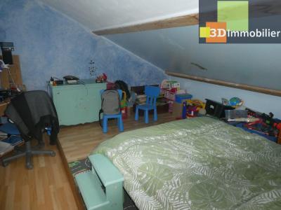 Chaussin (39 - Jura) à Vendre maison sur deux niveaux, 4 chambres, terrain de 600 m²., CHAMBRE 4 - 15 M²