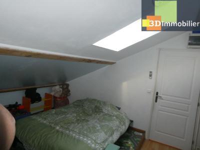 Chaussin (39 - Jura) à Vendre maison sur deux niveaux, 4 chambres, terrain de 600 m²., CHAMBRE 4