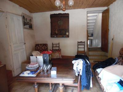 Secteur VIRIEU LE GRAND (01, Ain), à vendre maison de ville de 6 pièces à rénover., SALON