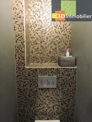 Aix-les-Bains (73100), à 700 mètres du Lac, à vendre appartement 2 chambres, 90m2 refais à neuf, WC