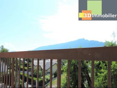 Aix-les-Bains (73100), à 700 mètres du Lac, à vendre appartement 2 chambres, 90m2 refais à neuf, TERRASSE