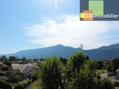 Aix-les-Bains (73100), à 700 mètres du Lac, à vendre appartement 2 chambres, 90m2 refais à neuf, VUE SUR LA DENT DU CHAT
