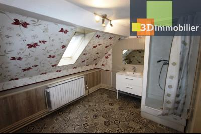 Lons-le-Saunier à 2 pas du centre ville, vends une maison de 12 pièces avec dépendances., SDE ETAGE 2