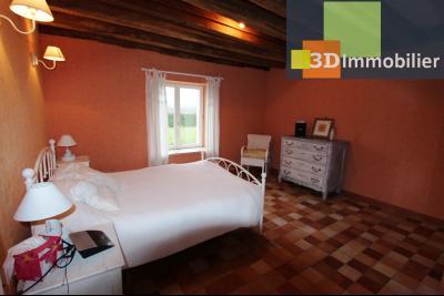 Lons-le-Saunier (Jura), à  vendre maison de caractère, 3 chambres sur terrain clos avec étang, CHAMBRE REZ-DE-CHAUSSE