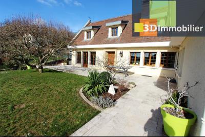 Lons-le-Saunier, à vendre grande maison de 7 chambres, 2 logements possibles, au calme., MAISON A VENDRE LONS-LE-SAUNIER