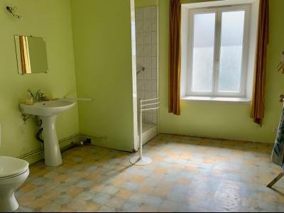 SECTEUR CLAIRVAUX LES LACS (39-JURA), A VENDRE MAISON DE 230 m2 SUR TERRAIN DE 396 m2, SALLE DE DOUCHE ETAGE 13 m2
