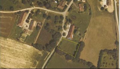 Vente secteur BLETTERANS (39), environnement calme, terrain constructible de 1703 m², Vue satellite