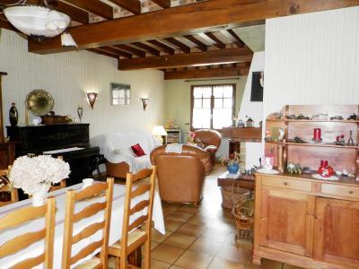 LOUHANS (71), maison à vendre de 158 m² proche commerces, quatre chambres, terrain 980 m²., SALON / SEJOUR