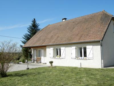 Vente PIERRE DE BRESSE (71), maison 145 m² (1994) et dépendances, sur terrain 4000 m², VUE TERRAIN 4000 m²