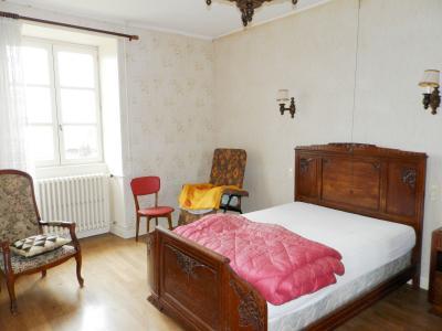 Vente proche POLIGNY (39800), maison familiale en pierre, 2 logements, terrain 1880 m², CHAMBRE Logement 2