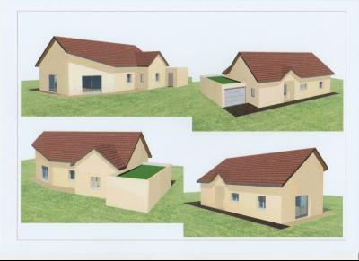 Vente LONS LE SAUNIER (39), maison plain-pied 2016 de 113 m², sur terrain 536 m², MAISON A VENDRE 113 m²