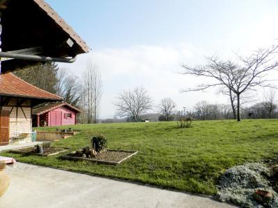 Vente proche Lons le Saunier (39) et LOUHANS (71), maison de caractère 157 m² sur terrain 2400 m², VUE TERRAIN