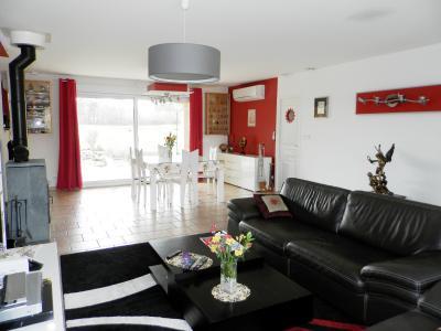 LOUHANS (71), à vendre maison contemporaine (2007), de 175 m² sur terrain 6500 m²., SALON / SEJOUR 41 m²