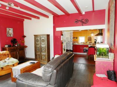 Vente PIERRE DE BRESSE (71), maison 106 m² avec dépendances, sur terrain clos et arboré 930 m², PIECE DE VIE 27 m²