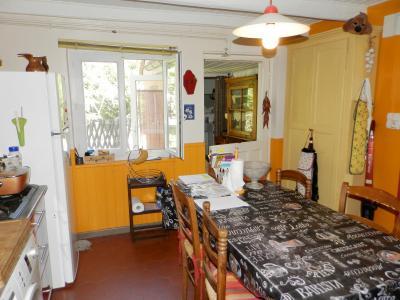 Vente PIERRE DE BRESSE (71), maison 106 m² avec dépendances, sur terrain clos et arboré 930 m², CUISINE AMENAGEE 13 m²