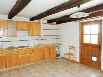 Vente PIERRE DE BRESSE (71), maison 106 m² avec dépendances, sur terrain clos et arboré 930 m², CUISINE logement 2