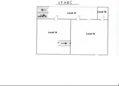 Vente LOUHANS (71), ferme-manoir 16ième siècle, de 215 m² env. sur terrain 6736 m², PLAN ETAGE