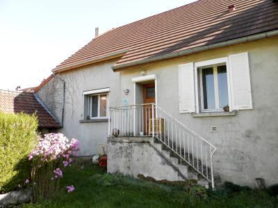 Vente proche BLETTERANS (39), maison de 100 m² + garage,  sur terrain 991 m², MAISON A VENDRE 100 m²