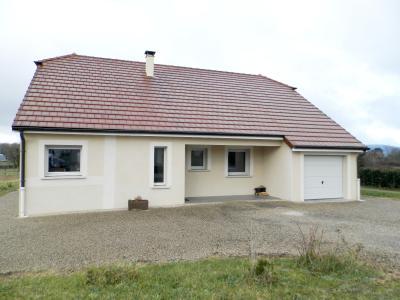 Vente LONS LE SAUNIER Nord (39), maison récente (2013), plain-pied 105 m² env. sur terrain 964 m², MAISON A VENDRE 105 m²