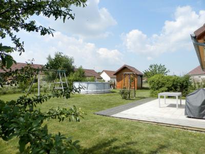 Vente secteur BLETTERANS (39), maison récente (2009) 130 m², 4 chambres, terrain 1155 m², TERRASSE côté Sud