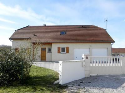 Vente secteur BLETTERANS (39), maison récente (2009) 130 m², 4 chambres, terrain 1155 m², MAISON A VENDRE 130 m²