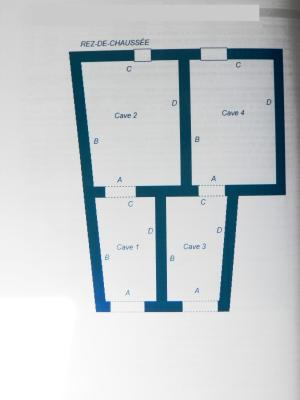 Vente MONTAIGU (39570), maison de village en pierre 127 m², jardin non attenant 381 m², PLAN 2