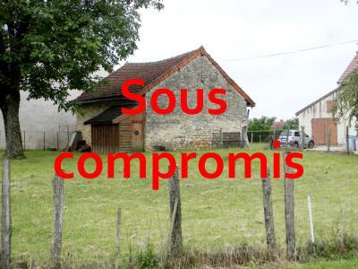 Vente LOMBARD (39230), terrain constructible 677 m² avec garage double en pierre, TERRAIN A VENDRE 677 m²