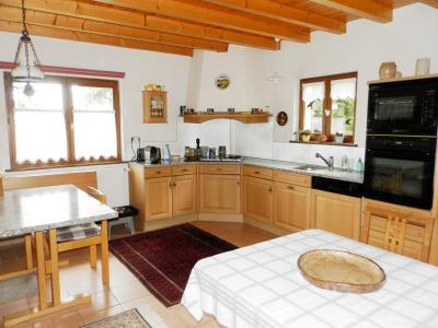 Vente MERVANS (71), ferme rénovée 138 m² + dépendances, terrain 22399 m², située au calme, CUISINE EQUIPEE 22.50 m²