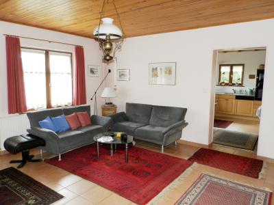 Vente MERVANS (71), ferme rénovée 138 m² + dépendances, terrain 22399 m², située au calme, SALON 22.60 m²