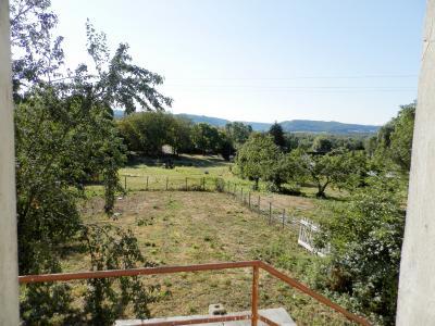 Secteur DOMBLANS (39210), à vendre maison en pierre 70 m² environ, dépendances, terrain 583 m²., VUE TERRAIN