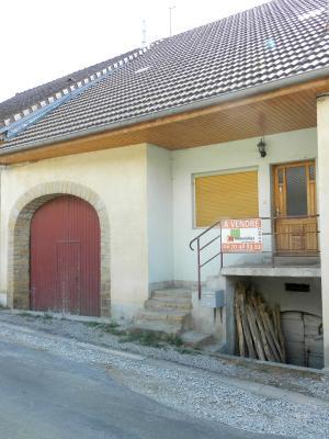 Secteur DOMBLANS (39210), à vendre maison en pierre 70 m² environ, dépendances, terrain 583 m²., MAISON A VENDRE 70 m²