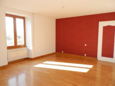 Secteur DOMBLANS (39210), à vendre maison en pierre 70 m² environ, dépendances, terrain 583 m²., SALON 16.50 m²