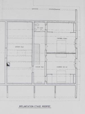 Vente SAINT GERMAIN DU BOIS (71), maison familiale 140 m², terrain 2510 m², PIECE DE VIE 42.30 m²