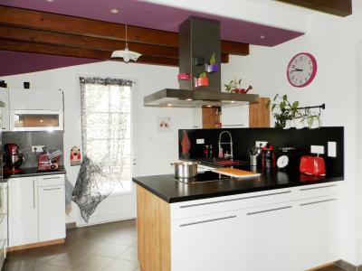 Proche BLETTERANS (39), à vendre maison rénovée 176 m², quatre chambres, terrain 2183 m²., CUISINE EQUIPEE 10 m²