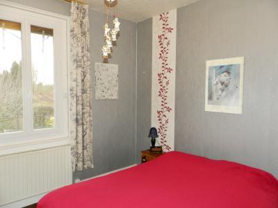 BLETTERANS centre (39), à vendre maison 80 m², garage, terrain 513 m² clos et arboré., CHAMBRE 12.50 m²