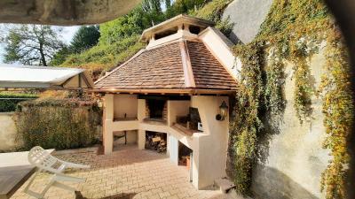 Proche ORGELET (39), à vendre maison 176 m² sur terrain 4000 m² environ avec vue, TERRASSE SUD
