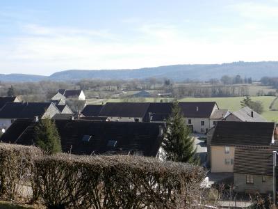 Proche ORGELET (39), à vendre maison 176 m² sur terrain 4000 m² environ avec vue, VUE TERRAIN