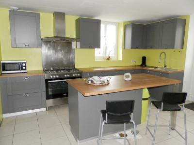 BELLEVESVRE (71), à vendre maison rénovée 143 m², dépendances, terrain environ 1.5 hectare., CUISINE EQUIPEE 22.60 m²