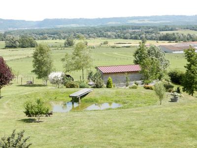 Secteur BRAINANS (39), à vendre maison 127 m² idéale passionnés équidés, terrain avec vue 14691 m²., TERRAIN VUE MONTS JURA
