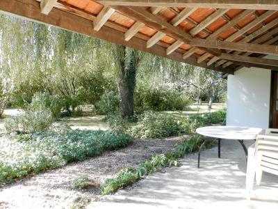BELLEVESVRE (71270), à vendre fermette rénovée 78 m², deux chambres, terrain arboré 2178 m²., VUE TERRASSE (Ouest)